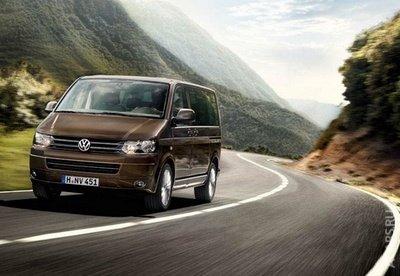 Volkswagen Multivan любит Россию