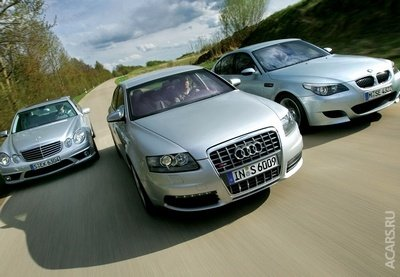 BMW выиграл войну против Audi и Mercedes